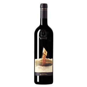 Etichetta Belnero Toscana igt banfi