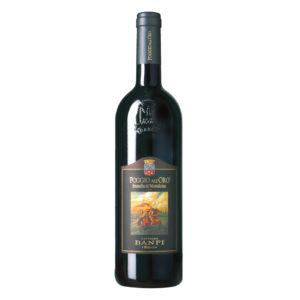 Etichetta Brunello di Montalcino Poggio all'Oro